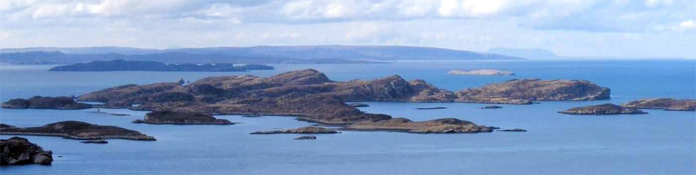 The Summer Isles from Highland Bothies