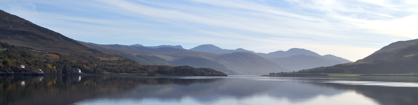 Ullapool bay from the Highland Bothies